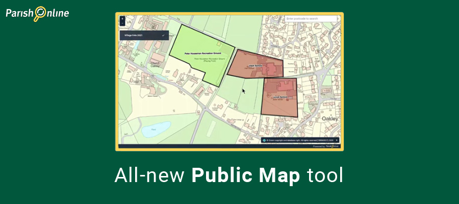Introducing the new Public Map tool for Parish Online